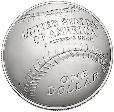 Baseball Hall of Fame Silver Dollar