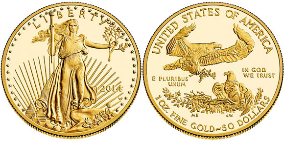 2014 Proof Gold Eagle