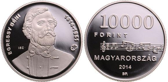 Béni-Egressy-silver-coin
