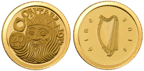 Battle of Clontarf Gold Coin