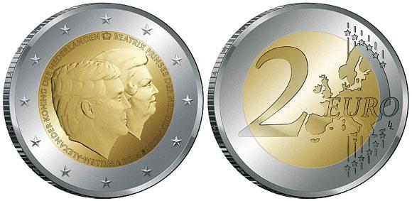 Queen Beatrix 2 Euro
