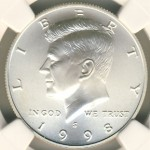1998 Kennedy Collector's Set with Matte Finish Half Dollar