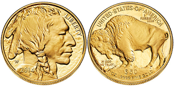 2014 Proof Gold Buffalo