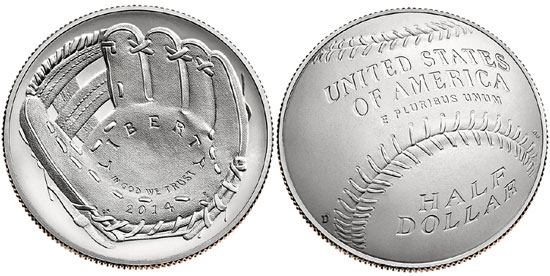 Baseball HOF Coin