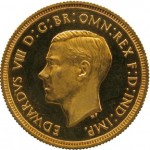 1937 Edward VIII Gold Proof Sovereign Sells for Record £516,000