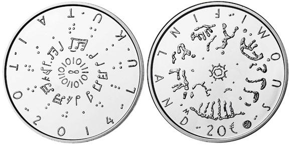 Finland Literacy Coin
