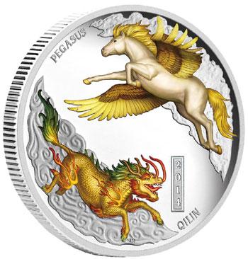 Qilin and Pegasus