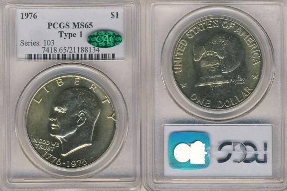 1976 Eisenhower Dollar