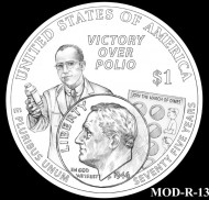CFA Recommends March of Dimes Silver Dollar Designs
