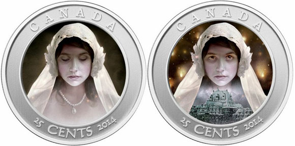 Canada Ghost Bride Hologram Coin