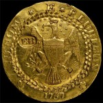 1787 Brasher Doubloon on Display at Chicago World's Fair of Money