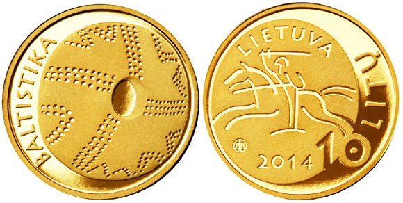 Lithuania Baltic Studies Coin