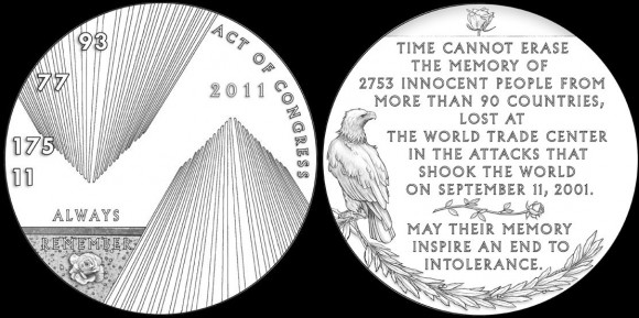 911 New York Medal Designs