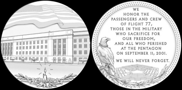 911 Pentagon medal designs