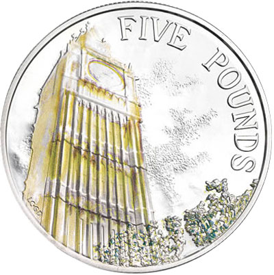 2014 Elizabeth Tower Silver Coin