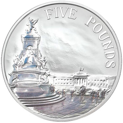 2014 Buckingham Palace Silver Coin