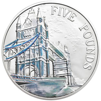 2014 Tower Bridge Silver Coin