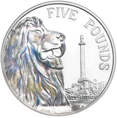 2014 Trafalgar Square Silver Coin