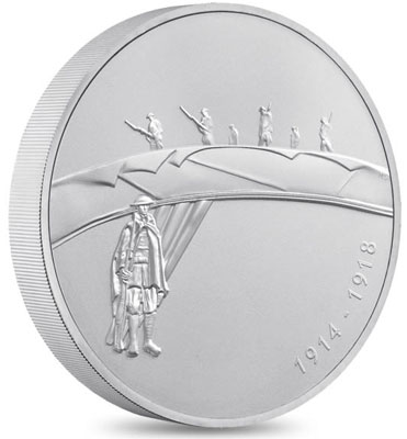 First World War Outbreak Silver Kilo Coin