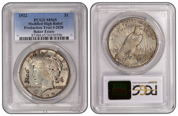 1922-$1-3200-J-2020-PCGS-MS