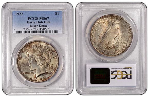 1922-$1-Early-Hub-Dies-PCGS