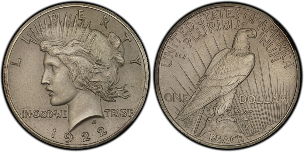 High Relief Peace Dollar 1922 High Relief Peace Dollar ""