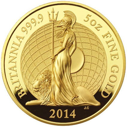 2014 Britannia Gold Proof Coin