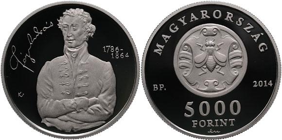 Andras Fay Silver Coin