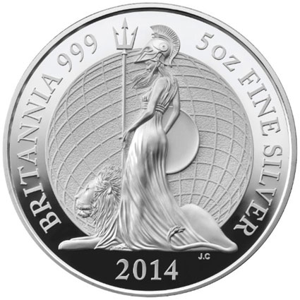 2014 Britannia Silver Proof Coin
