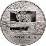 Coins Honor Hungarian Artist Bela Spanyi