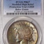 PCGS Certifies Historic Transitional Peace Dollars
