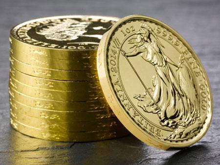 Gold Britannia Year of the Horse