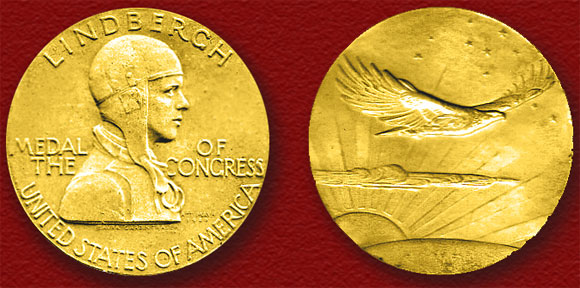 Charles Lindbergh Congressional Gold Medal
