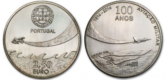 Portugal Military Aviation Coin