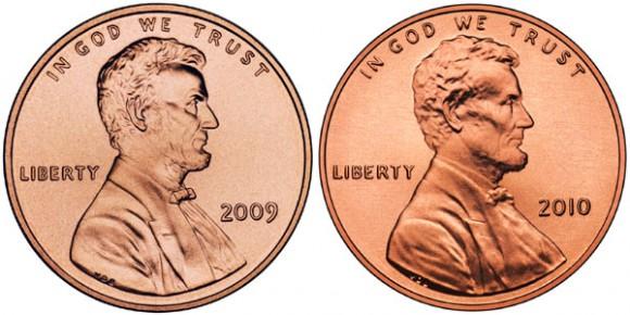 Restored Lincoln Cent portrait design