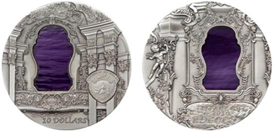 2010 Tiffany Art Rococo Coin