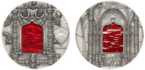 2011 Tiffany Art Manueline Coin