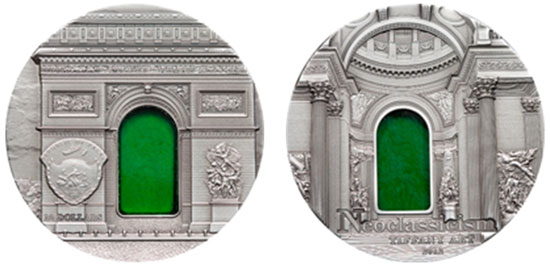 2012 Tiffany Art Neoclassicism Coin