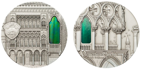 2013 Tiffany Art Venetian Gothic Coin