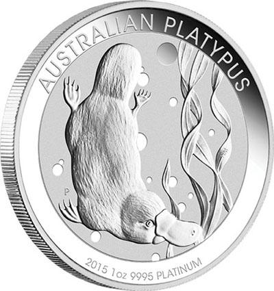 2015 Australian Platypus Platinum Coin
