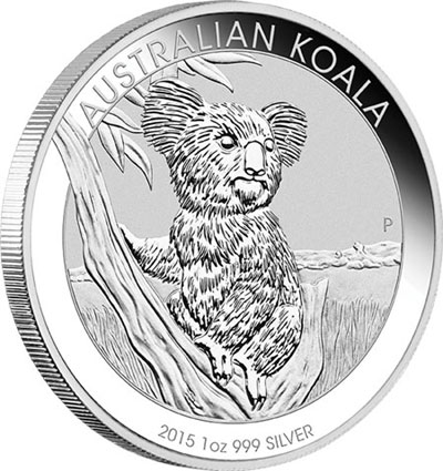 2015 Australian Koala Silver Coin