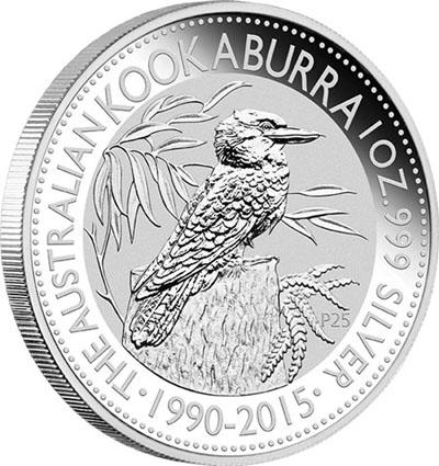 2015 Australian Kookaburra Silver Coin