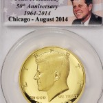 PCGS Certifies First Six Gold Proof Kennedy Half Dollars