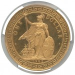 Gold British Trade Dollar Leads Baldwin's Hong Kong Coin Auction