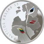 Lithuania Marks Baltic Chain Anniversary with Gold and Silver Coins