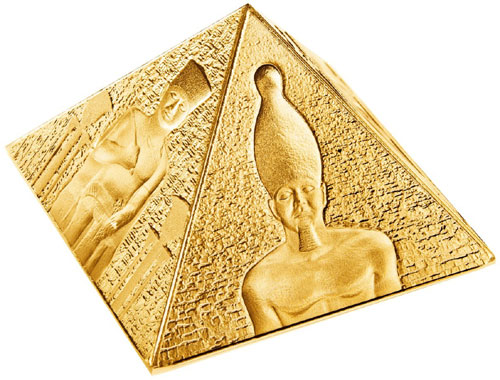 Niue Gold Pyramid Coin