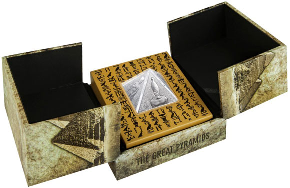 Pyramid Coin Case