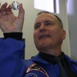 Astronaut Richard Hieb Launches Orion Domed Coin