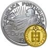 Portugal 100th Anniversary Eccentric Bimetallic Gold and Silver Coin