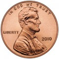 2010 Satin Finish Lincoln Cent